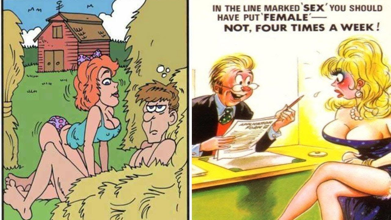 Adult Cartoon Comics adult comics capture the everyday life in hilariously