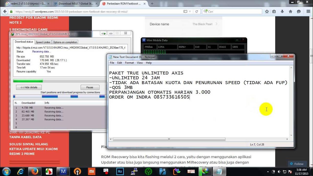 Axis True Unlimited Youtube Kartu Perdana 1 Pcs