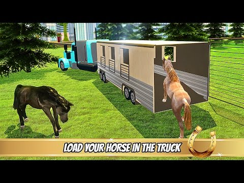 Transporter Truck Horse Stunts - Android Gameplay