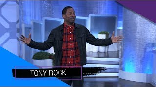 Wednesday on 'The Real': Tony Rock, Jazz Smollet, and Roma Downey!