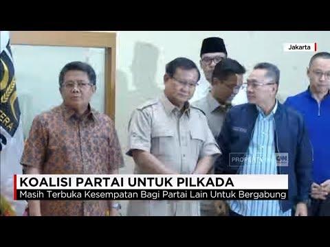 Koalisi 3 Partai (Gerindra, PAN, PKS) Di Pilkada Serentak 2018
