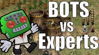 Experts vs AI Battle! TyRanT vs Barbarian AI 3v5!