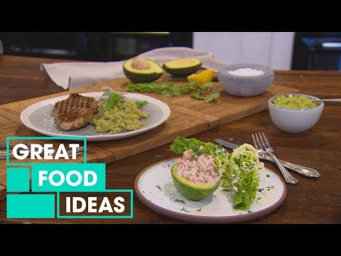 How to Make Avocados with Prawn Salad & Avocado Rice | Food | Great Home Ideas