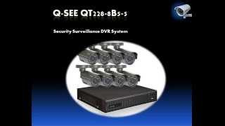Q-See QT228-8B5-5 8-Channel CIF/D1 Security Surveillance DVR System Review