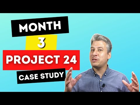 Income School Project 24 – Why After 3 Months I'm NOT Giving Up. Full Google Analytics Access!