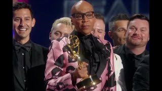 71st Emmy Awards: RuPaul's Drag Race Wins For Outstanding Reality-Competition Program