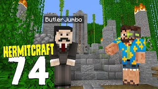 HermitCraft 7: 74 | I made him a BUTLER!