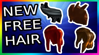 NEW FREE HAIR ON ROBLOX ?!! - ROBLOX PROMO CODES 2019!! FREE NEW ITEMS ON ROBLOX 2019