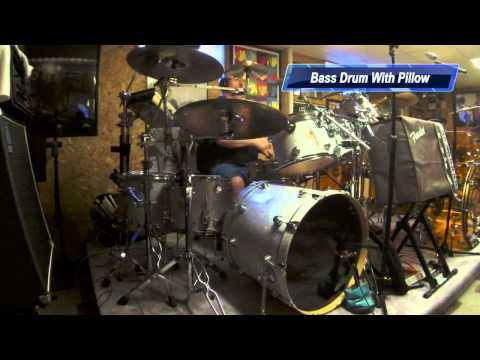 bass drum miking dampening youtube. Black Bedroom Furniture Sets. Home Design Ideas