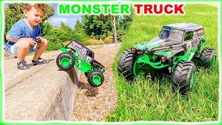 Monster Truck Toy is Learning to Behave