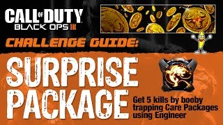 """Black Ops 3 How To Do the """"Surprise Package"""" Challenge (""""Booby Trap Kills"""")"""