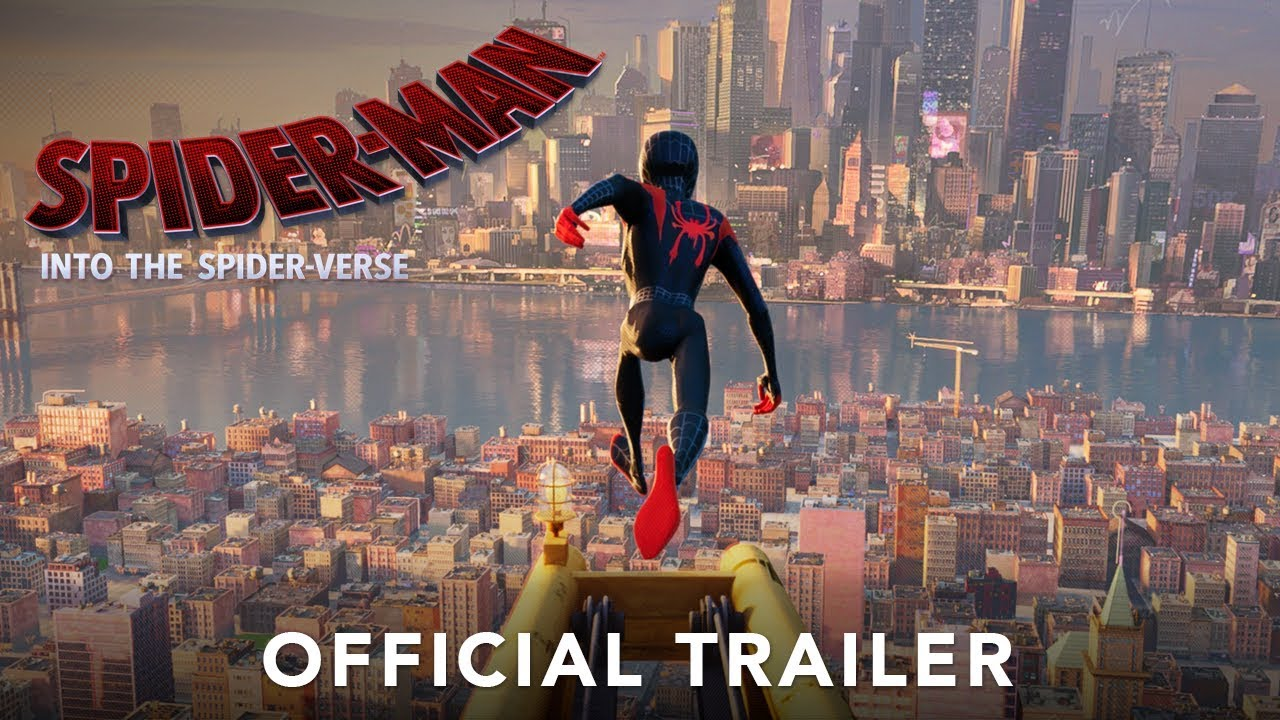 Spider Man Into The Spider Verse Official Trailer 2 Hd Youtube