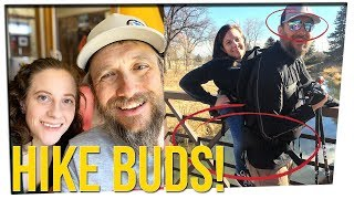 Woman Who Can't Walk Hikes with Blind Man (ft. Stacey Diaz)