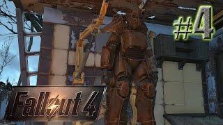 Собираем ресурсы и строим - Fallout 4 PS4 - 4