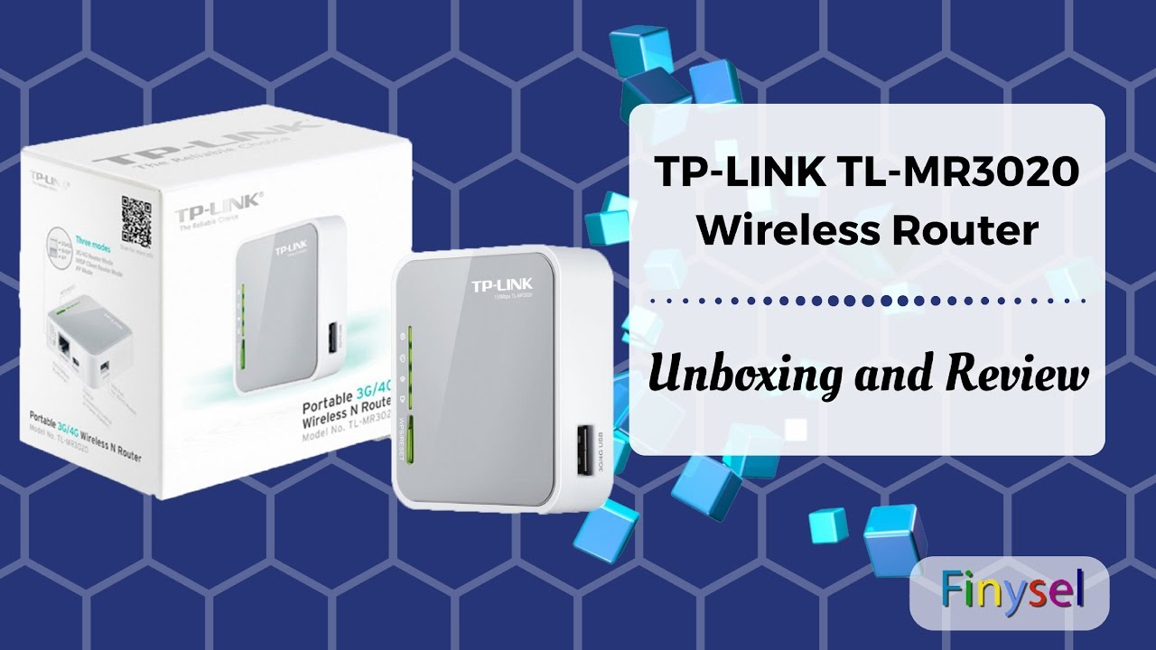 TP Link TL MR3020 Router Unboxing and Review   Wi-Fi Hotspot All Rounder