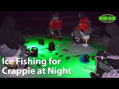 Webinar: Ice Fishing For Crappie At Night