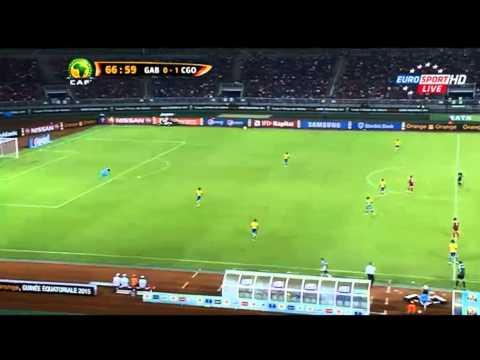 Gabon vs Congo 0-1  Coupe d'Afrique des Nations 2015  Part 2