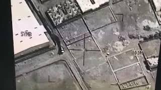 فيديو لحظة قصف الهالك #صالح_الصماد