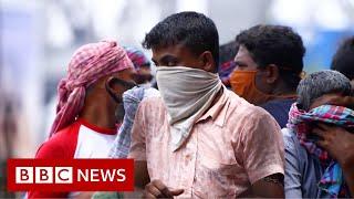 Covid crisis grips crowded Kolkata - BBC News