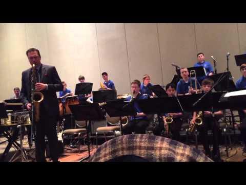 Westfield Community School Jazz Ensemble - Machito's Blues