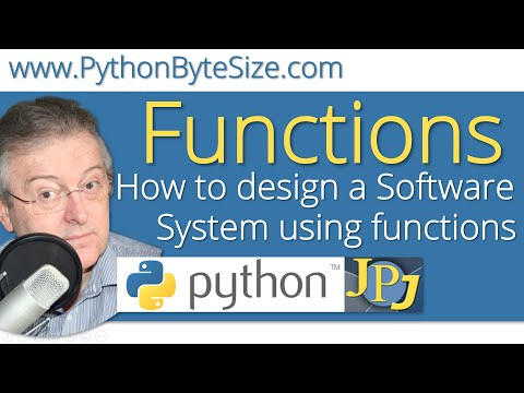 How to design a Software System using Python functions