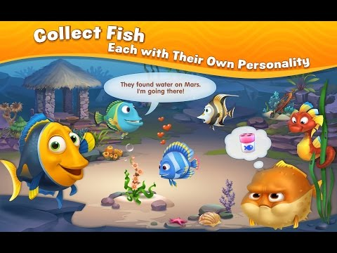 Fishdom Puzzle Fun Games -  Videos Games For Kids - Girls - Baby Android