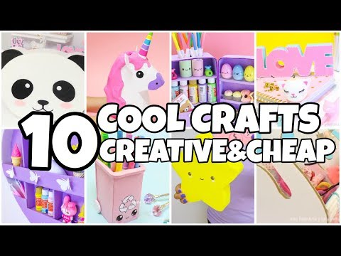 Thumbnail: 10 COOL CARDBOARD CRAFTS YOU MUST TRY-EPIC things to do WHEN YOU ARE BORED