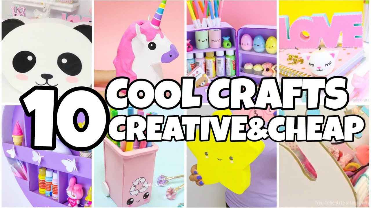 10 COOL CARDBOARD CRAFTS YOU MUST TRY-EPIC Things To Do