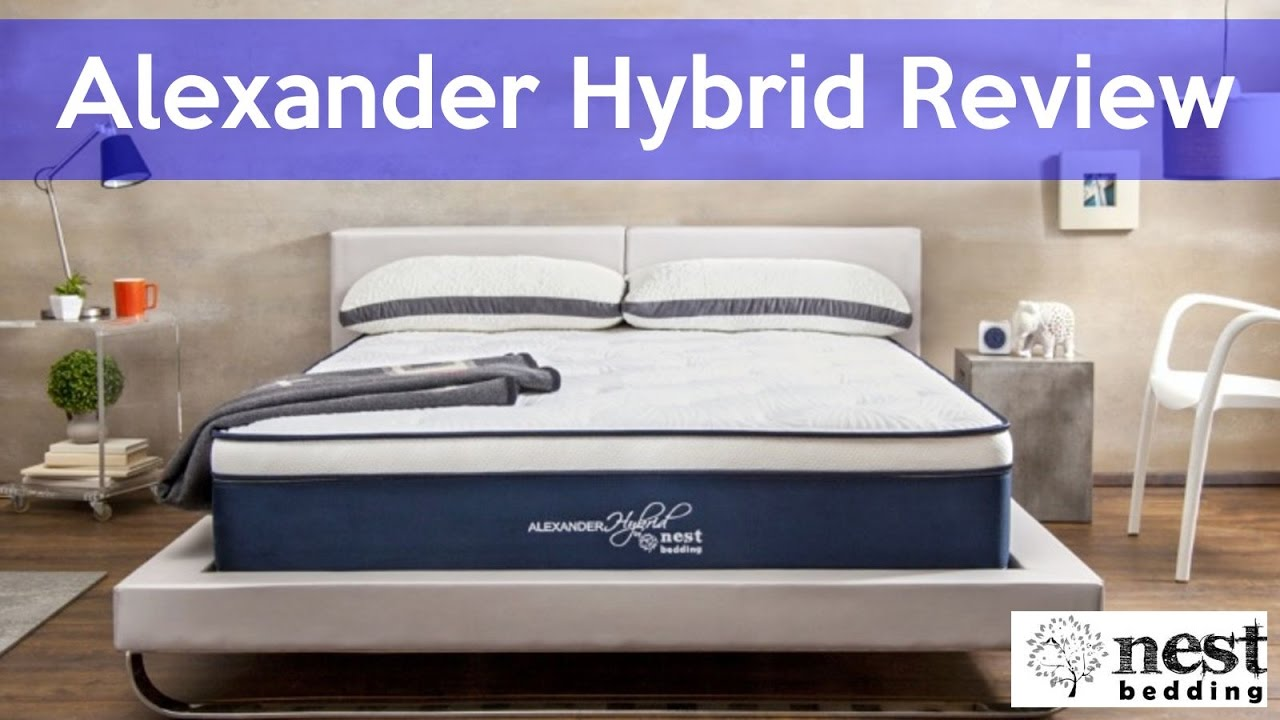 alexander signature nest picture medium bedding mattress model hybrid reviews