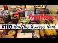 Fred Meyer & Safeway | $110 Healthy Grocery Haul & Meal Plans | WW Freestyle
