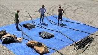 Burning Man Tent Time Lapse