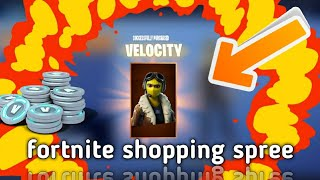 Fortnite shopping spree and gifting skins!?