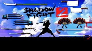 SHADOW FIGHT 2 BOSS WEAPONS