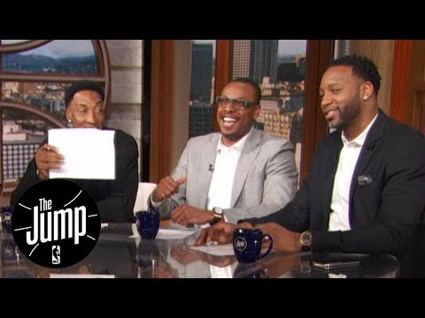 LeBron Or Magic On Paul Pierce's All-Time Starting Five? | The Jump | ESPN