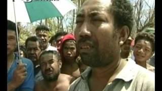 Cyclone Zoe hits Tikopia Island