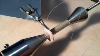 Homemade universal coil winding machine