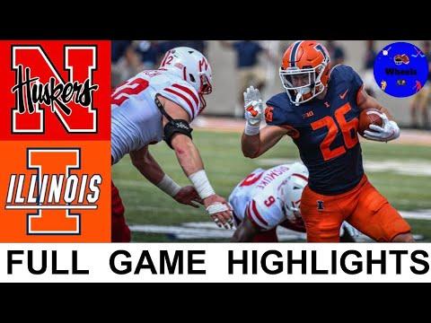 Nebraska vs Illinois Highlights | College Football Week 0 | 2021 College Football Highlights