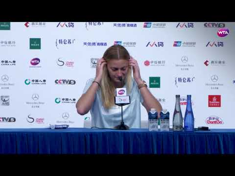 2017 Beijing Press-Conference | Petra Kvitova