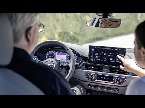 Audi A4 2020 Infotainment system review