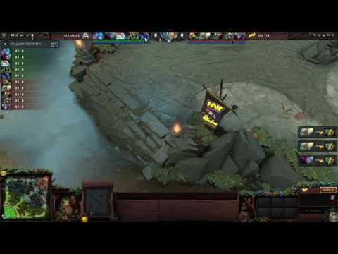 Navi vs Alliance ( Manila Major ) ( game 2 )
