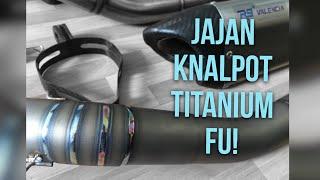 Jajan Knalpot Titanium buat Fu! - #50 R9 Valencia Titanium Satria Fu  (with Sound)