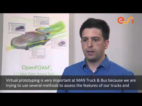 OpenFOAM User Testimonial - Antoine Devesa, CFD Engineer at MAN Truck & Bus