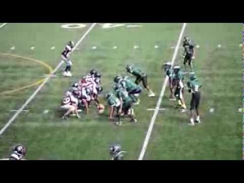 Renton Rangers - JRs touchdown against Rainier Eagles 8.25.13