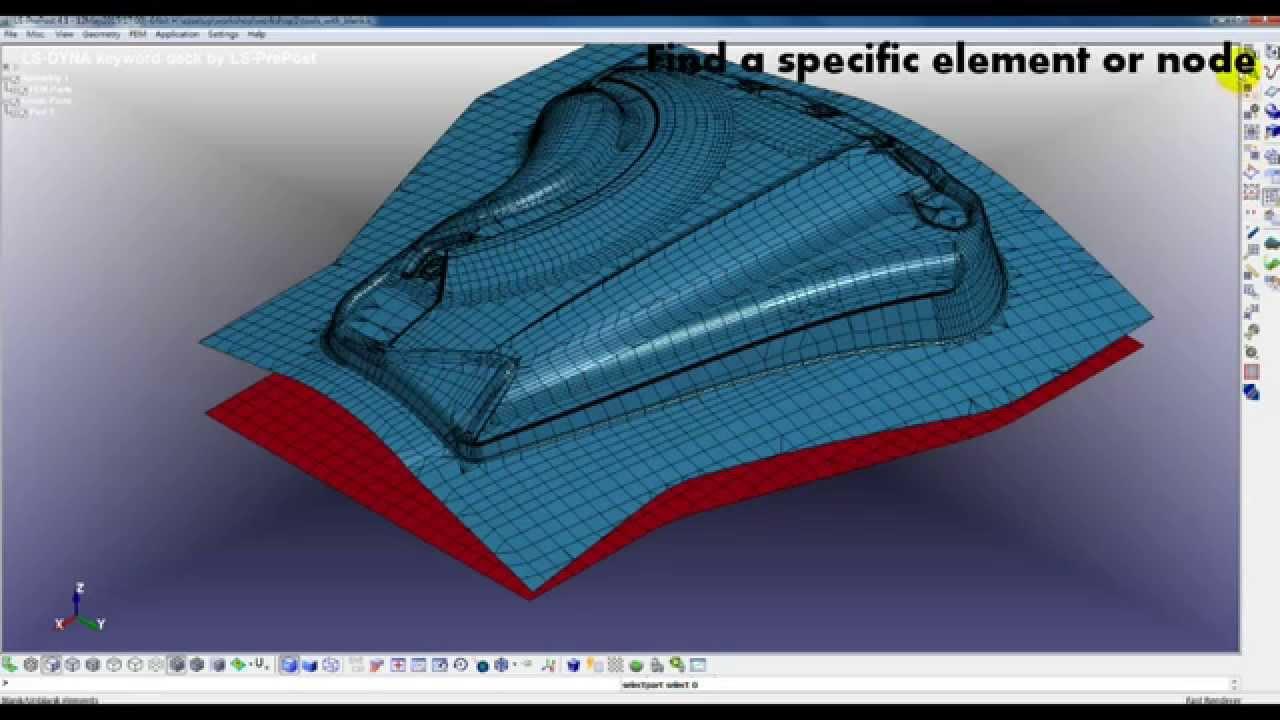 Ls Prepost Ezsetup Of Sheet Metal Forming Workshop01