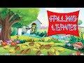 Falling Leaves - Nursery Rhyme with Lyrics & Sing Along ||  Nursery Rhyme | Kids Trendz TV