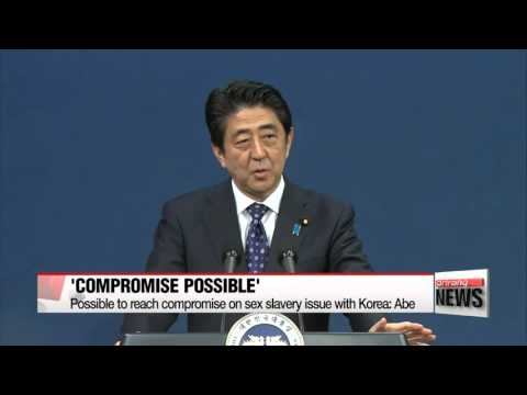 Abe says possible to reach compromise on sex slavery issue with Korea   아베 &quot