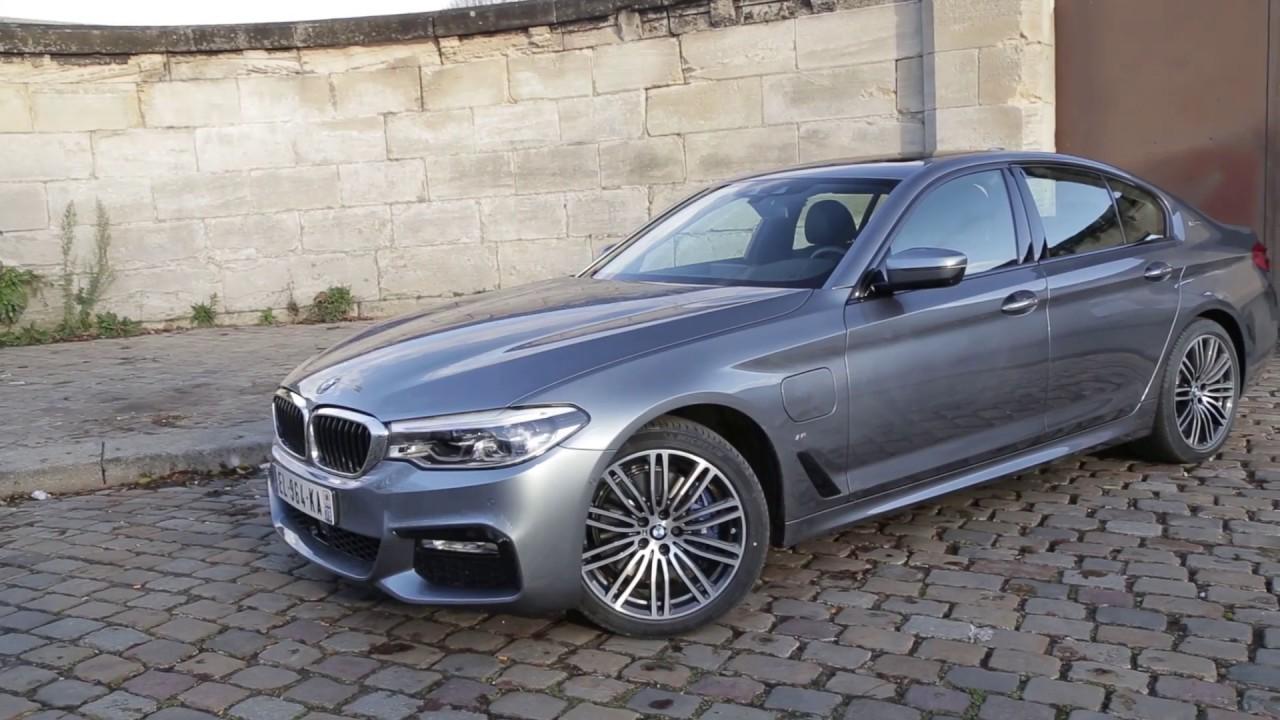 Essai BMW Série 5 530e 252ch M Sport Hyrbide rechargeable ...