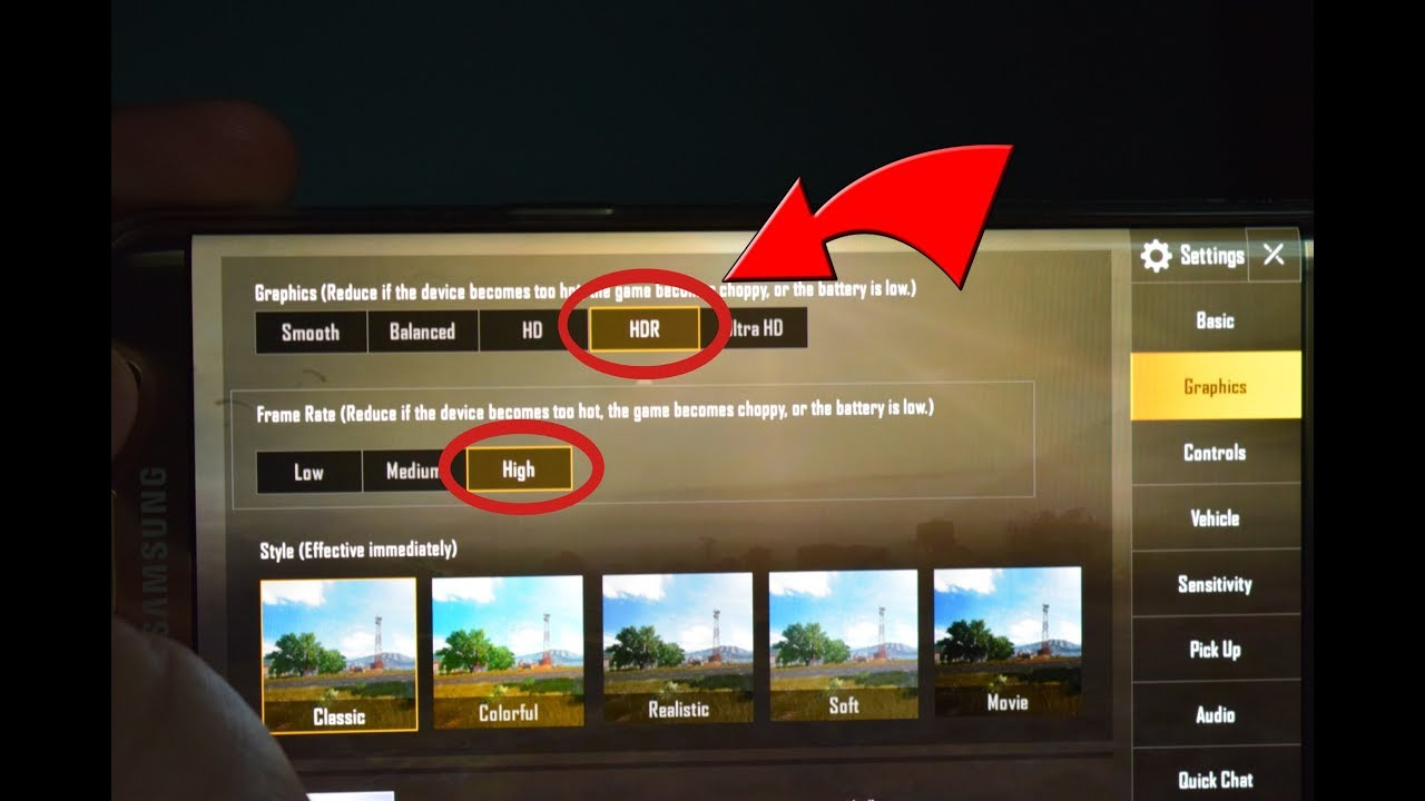 How To Play PUBG MOBILE in HDR On Every Device - 100% Working