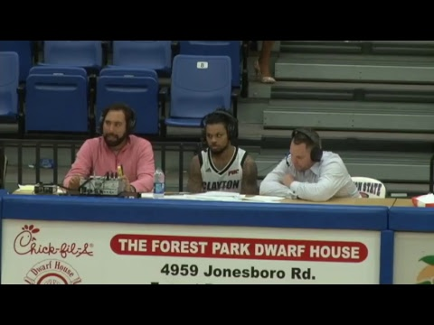 MBB - Flagler College at Clayton State - December 2, 2017 - Post-Game Interview