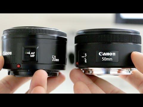 Canon 50mm 1.8 STM vs 50mm 1.8 II - Lens...